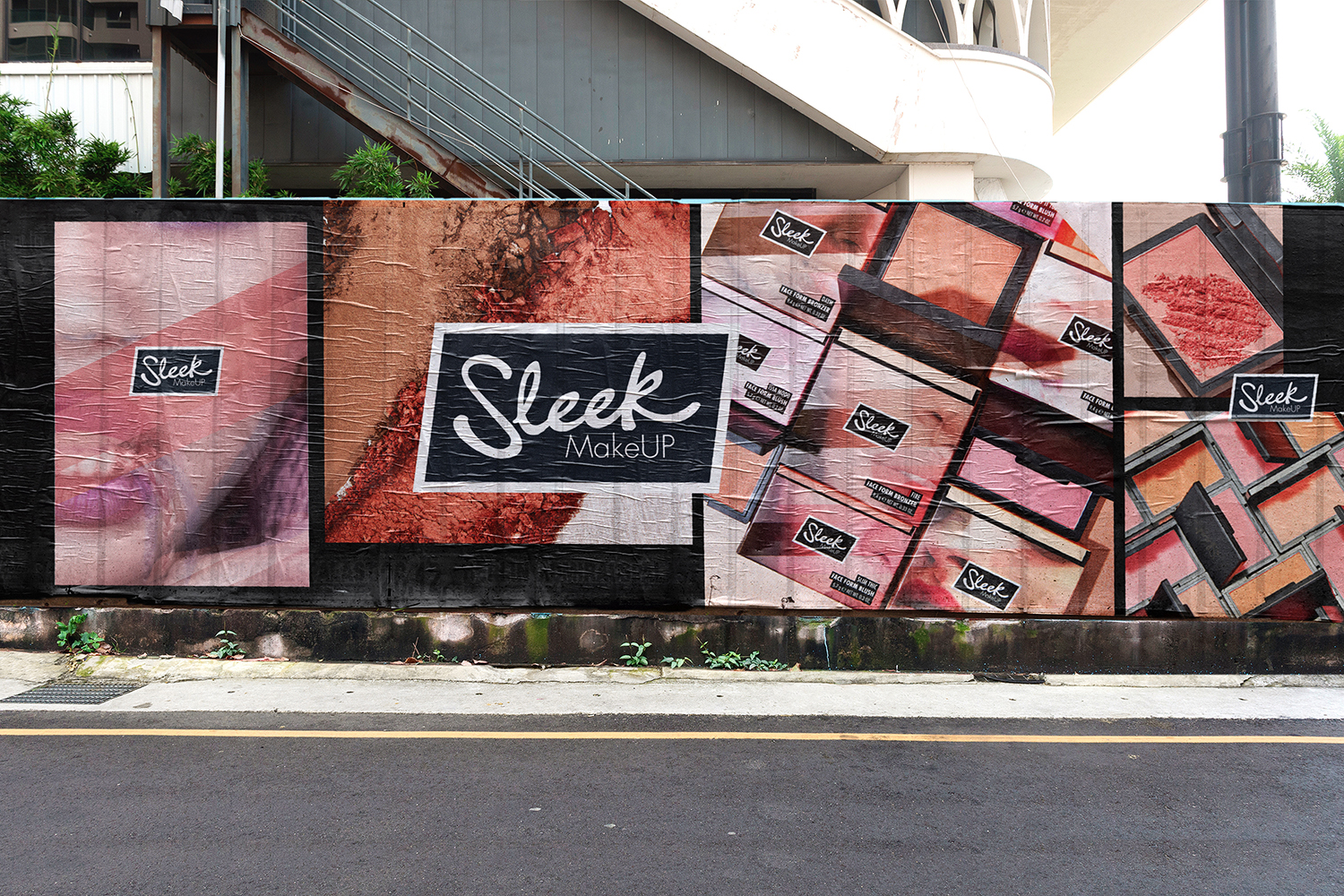 Our bold new look for Sleek makeup